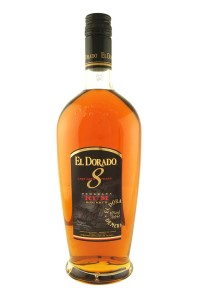The El Dorado 8 year old rum